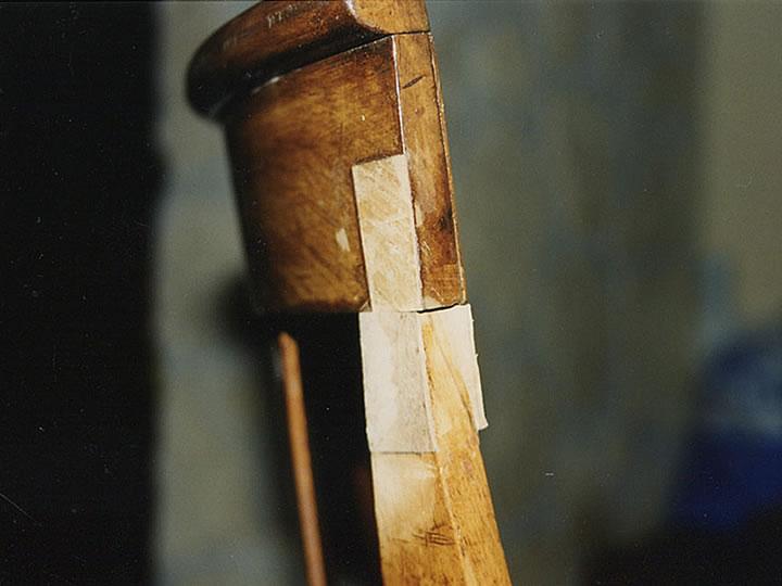 Au phyl du bois chaises for Restauration d une table en bois