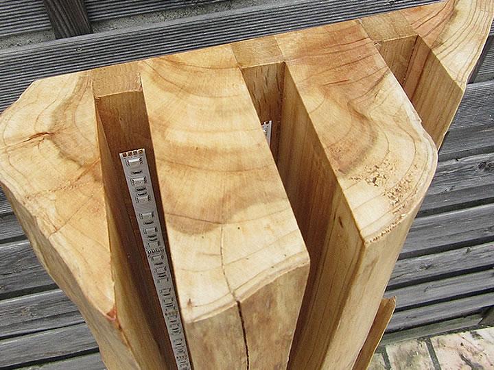 Au phyl du bois lampe dosse sur pied for Luminaire en bois